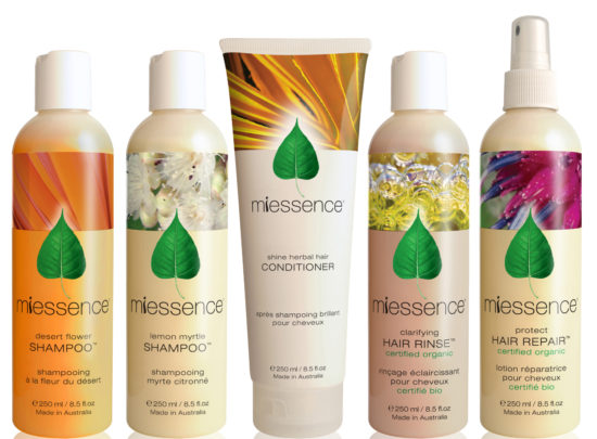 Miessence Shampoo and Conditioner - The Organic Choice