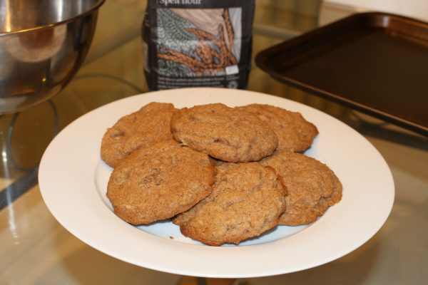 Apple & Cinnamon Spelt Cookies