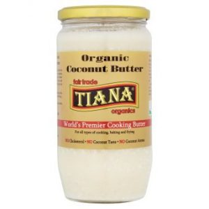The Organic Choice | Tiana Fairtrade Pure Organic Coconut Butter